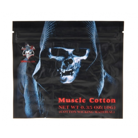 Muscle Organic Cotton Wick 10 Pack