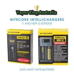 Nitecore i1 and i2 Intellicharger