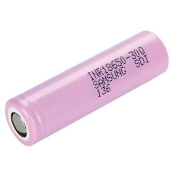 Samsung 30Q 18650 Flat Top Battery